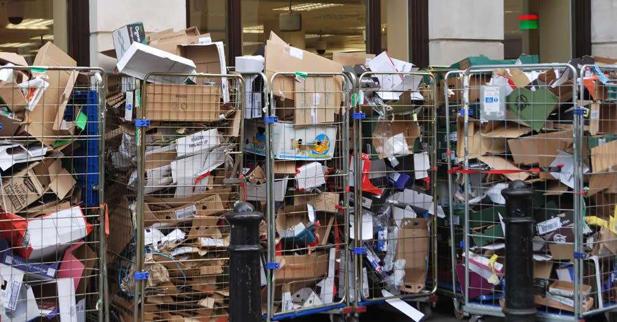 Commercial waste removal London