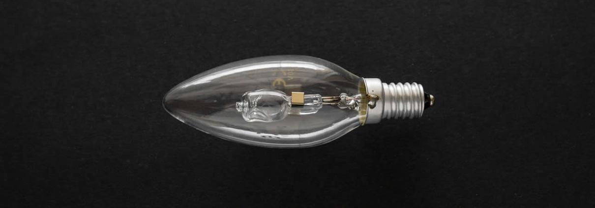 Halogen bulb ban