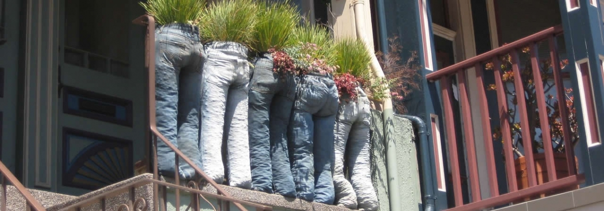 Recycling ideas for jeans