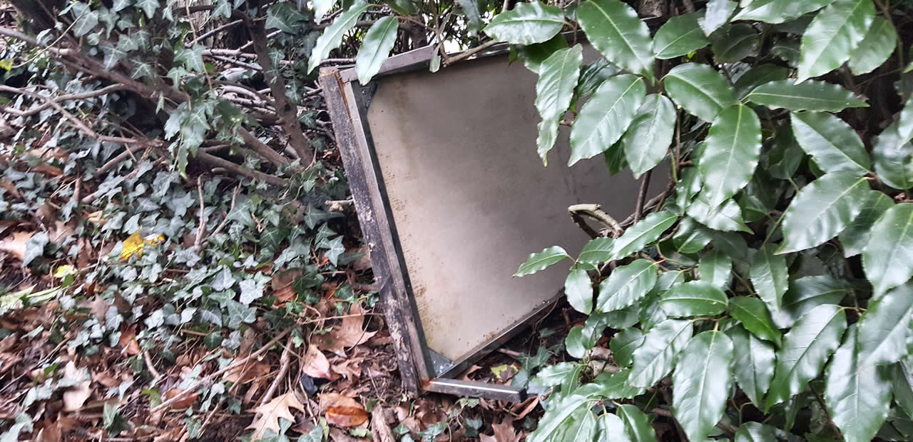 Woodland Trust Fly Tipping