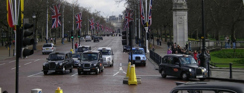 London's Black Taxi Cabs are exempt from the ULEZ