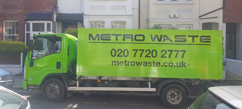 Rubbish removal and clearance in Camden Town