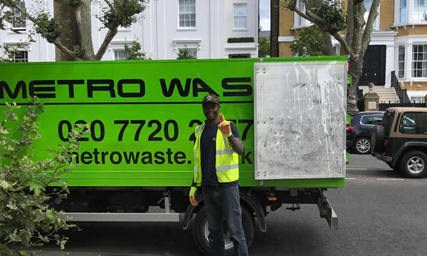 Rubbish removal and clearance in Hackney
