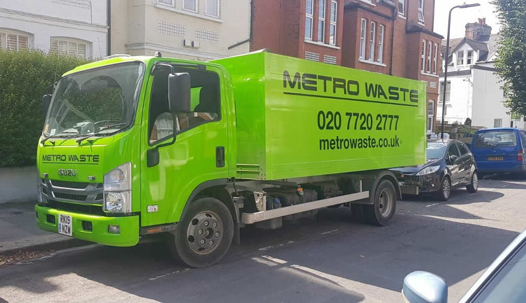 A Metro Waste truck