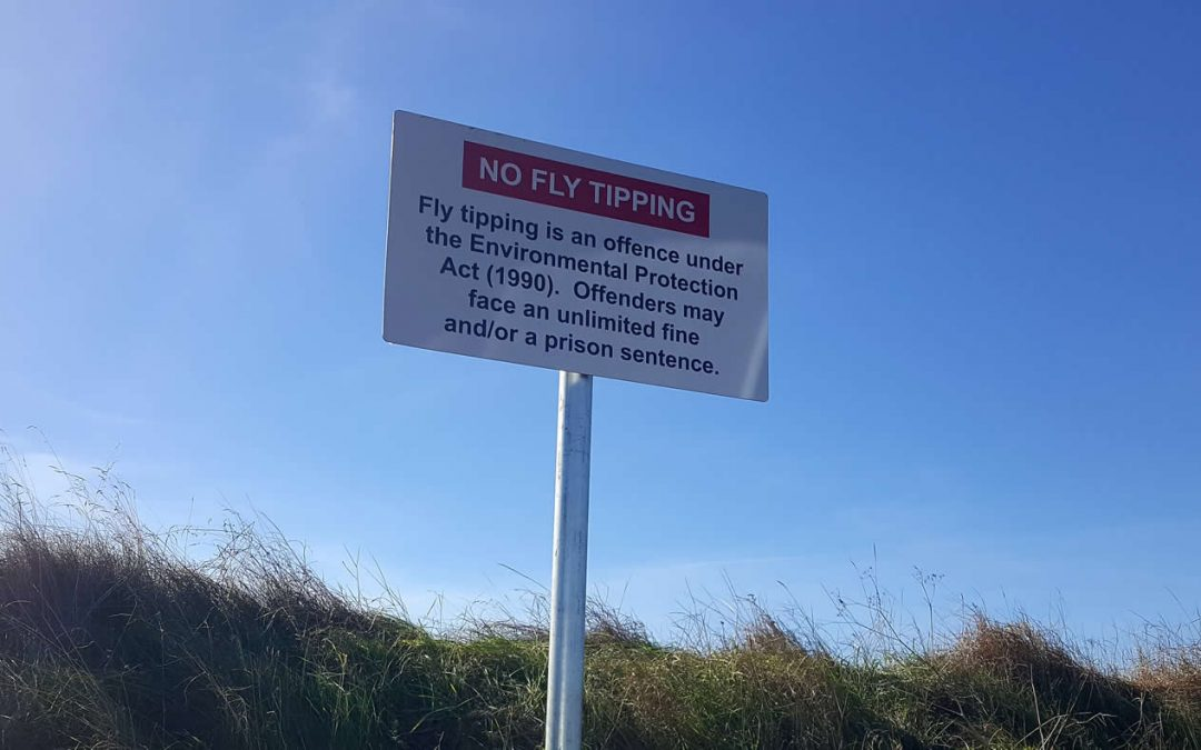 Fly-tipping increase due to Coronavirus