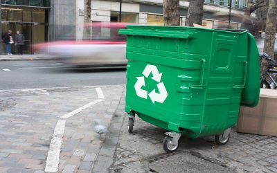 London behind the rest of UK for household waste recycling