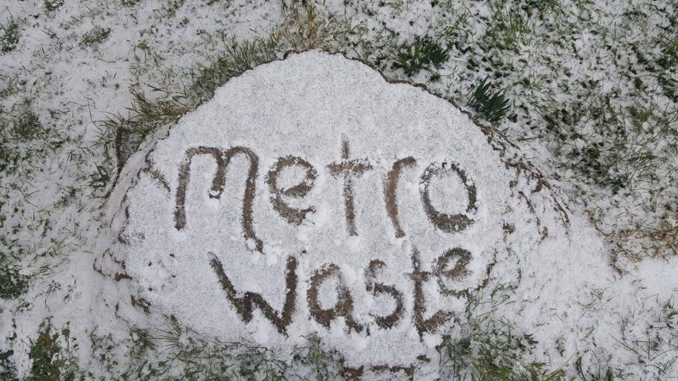 Winter rubbish removal options
